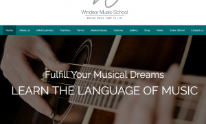 Windsor Music School New Website